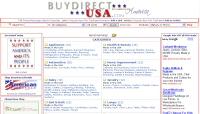 BuyDirectUSA.com Buy American for America