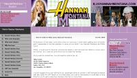 Hannah Montana Fan Site